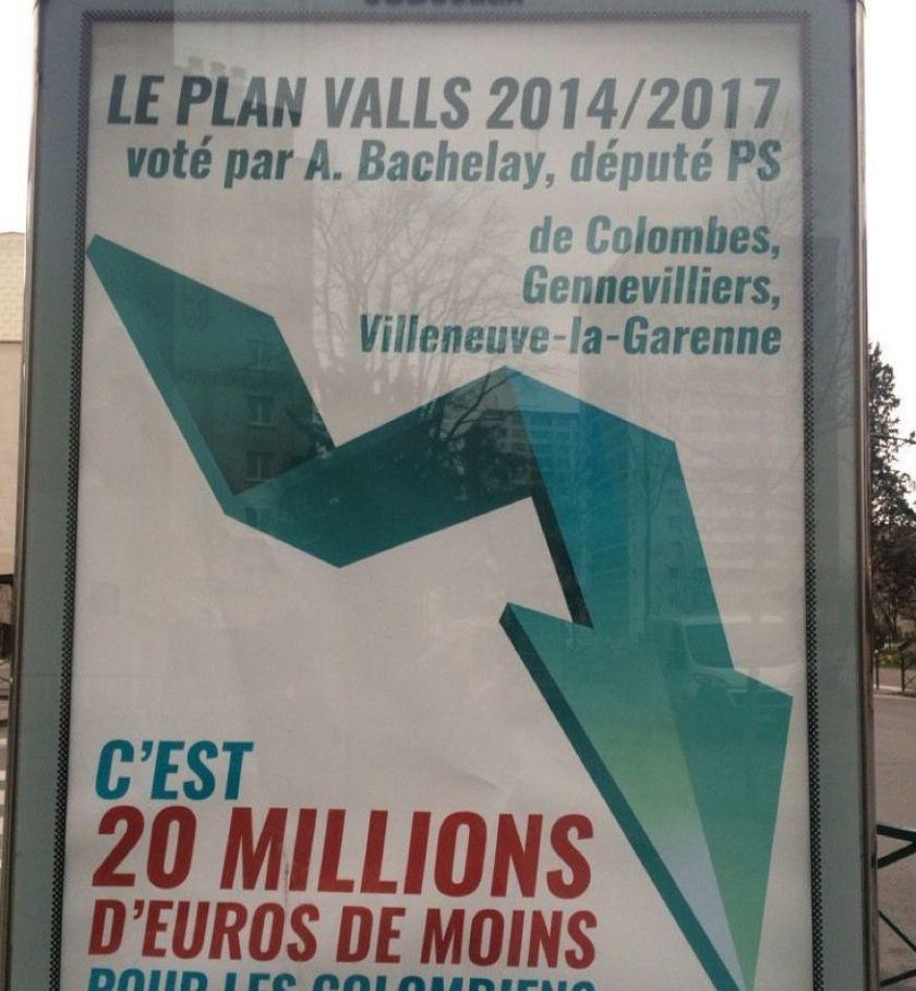 Colombes : les affiches de la discorde ressortent du placard