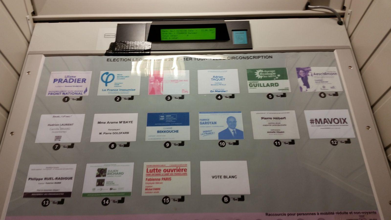 Election : comment voter dans un bureau de vote électronique ?