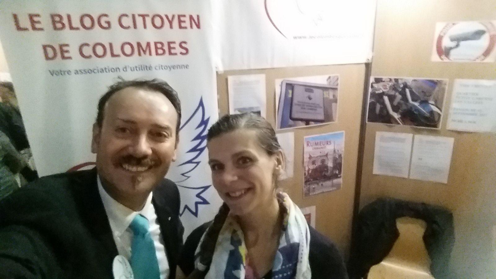 Forum des associations de Colombes : très belle rencontre avec Virginie prof de danse du LSOC