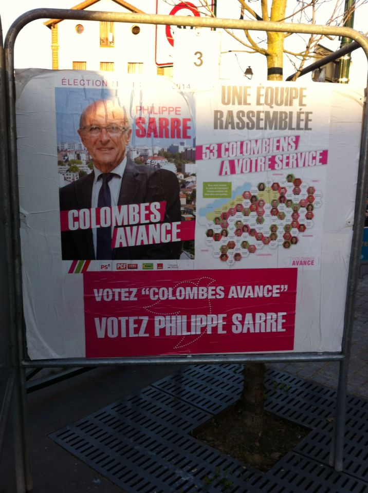 COLOMBES AVANCE : CA BOUGE A COLOMBES !