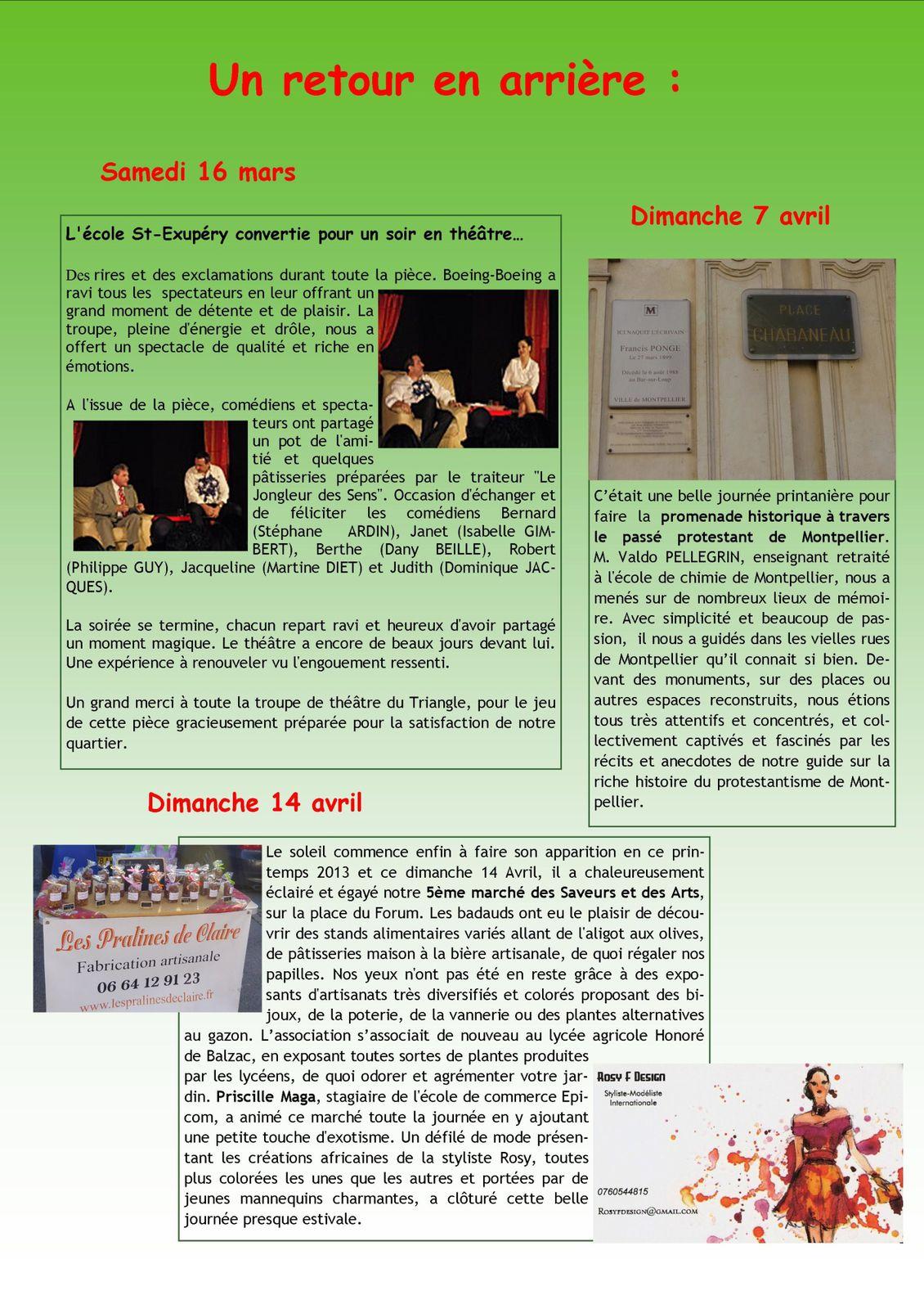 Bulletin N°37 - Printemps - Eté 2013