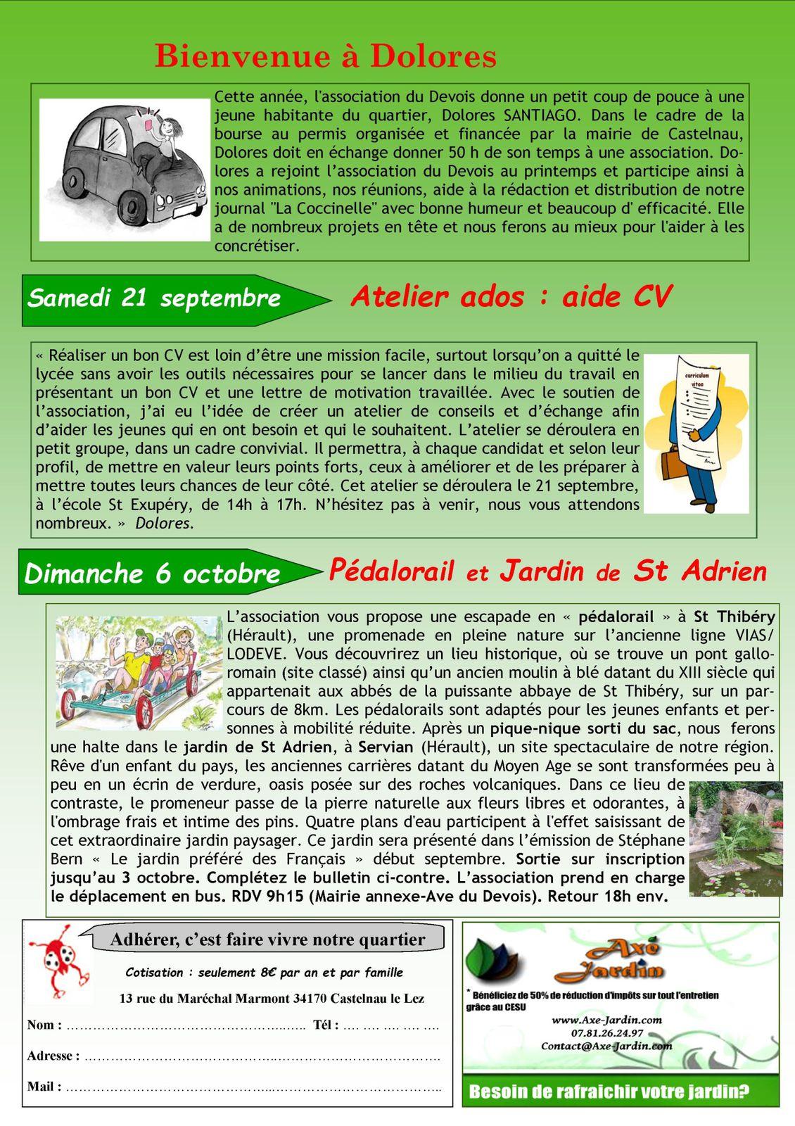 Bulletin N°38 - Automne 2013