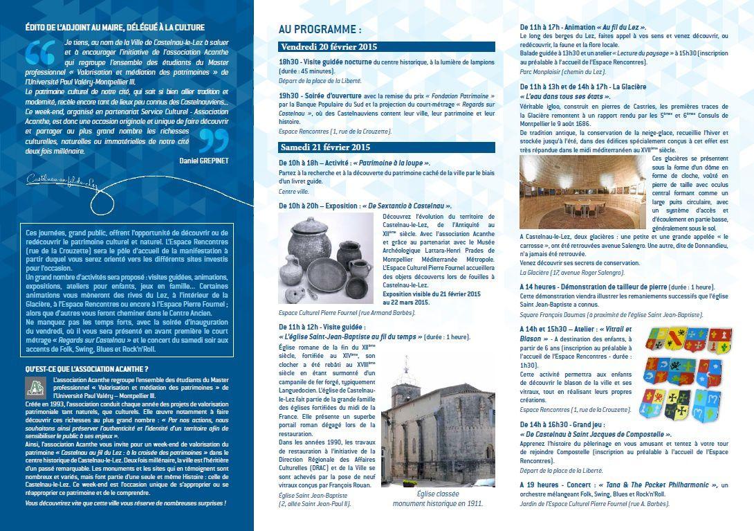 Castelnau au fil du lez : à la croisée des patrimoines