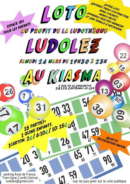 Loto organisé par Ludolez