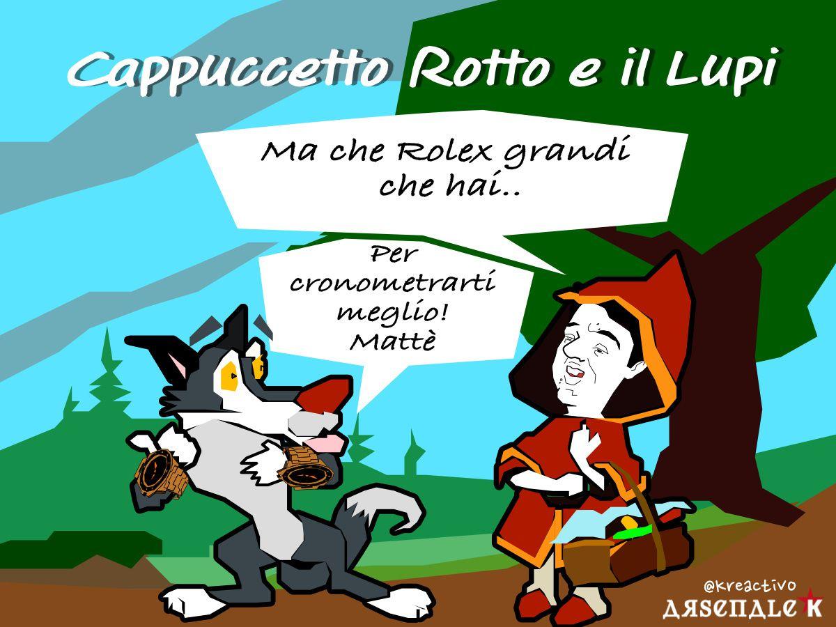 Renzi  e il Lupi