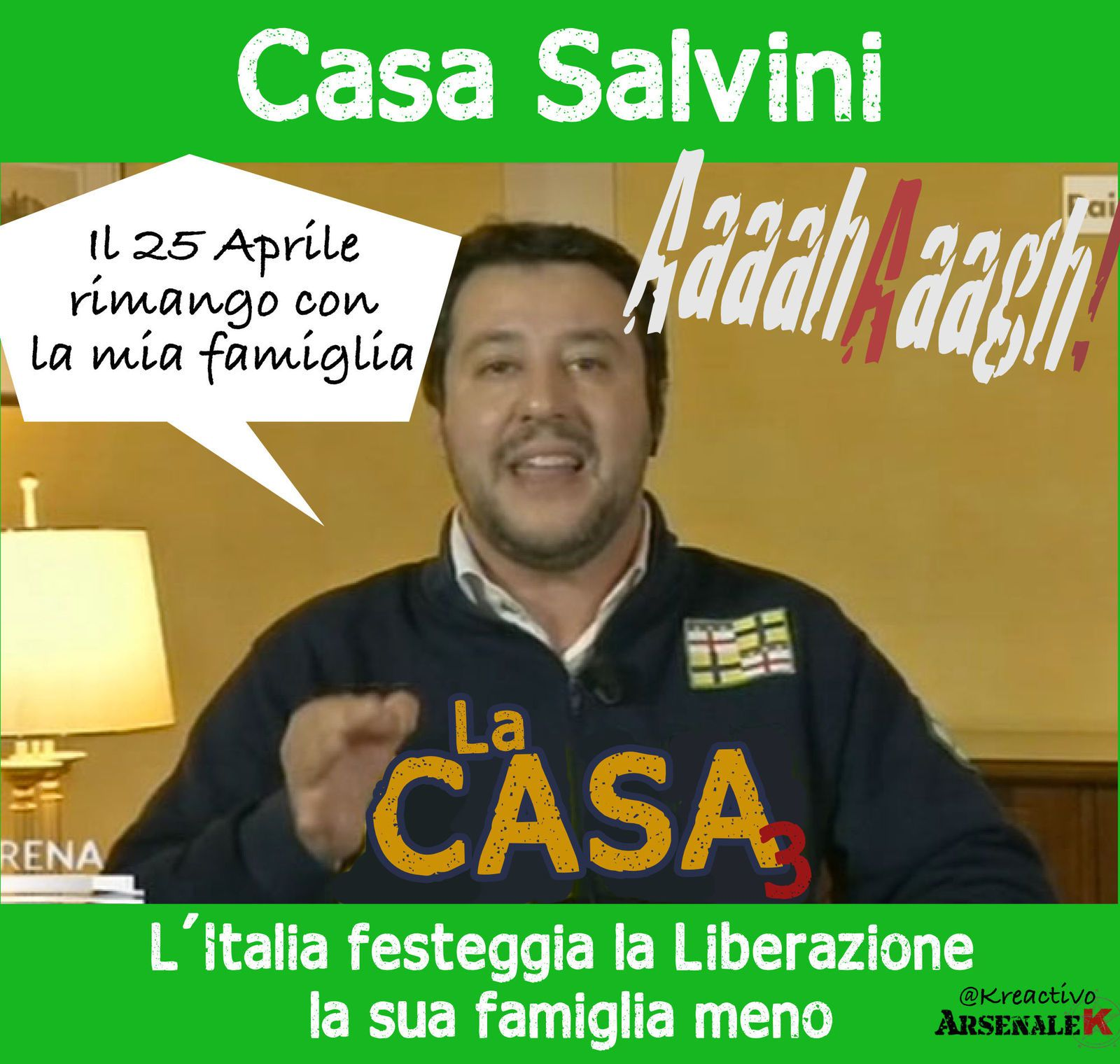 La Liberazione di Salvini