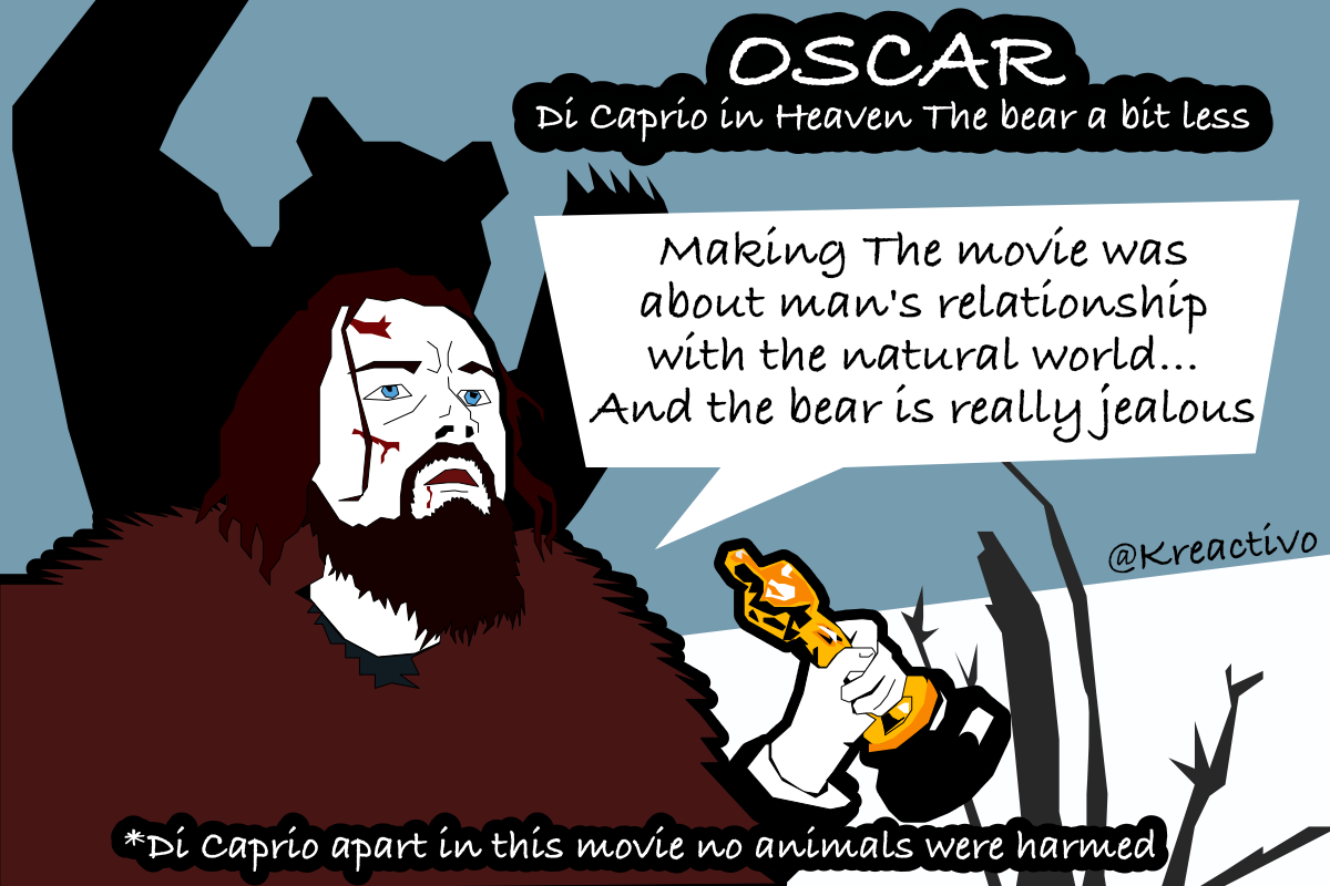 Di Caprio, The Oscar and the Bear