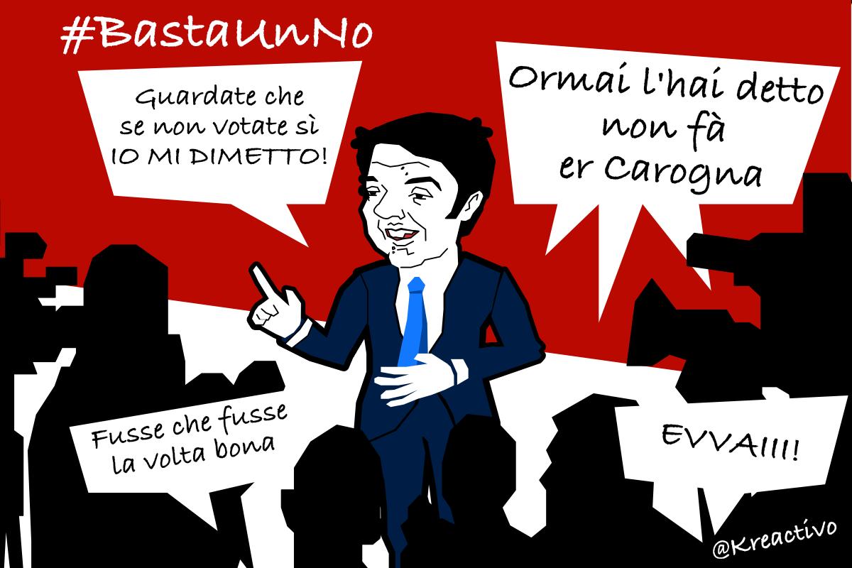 #BastaUnNo