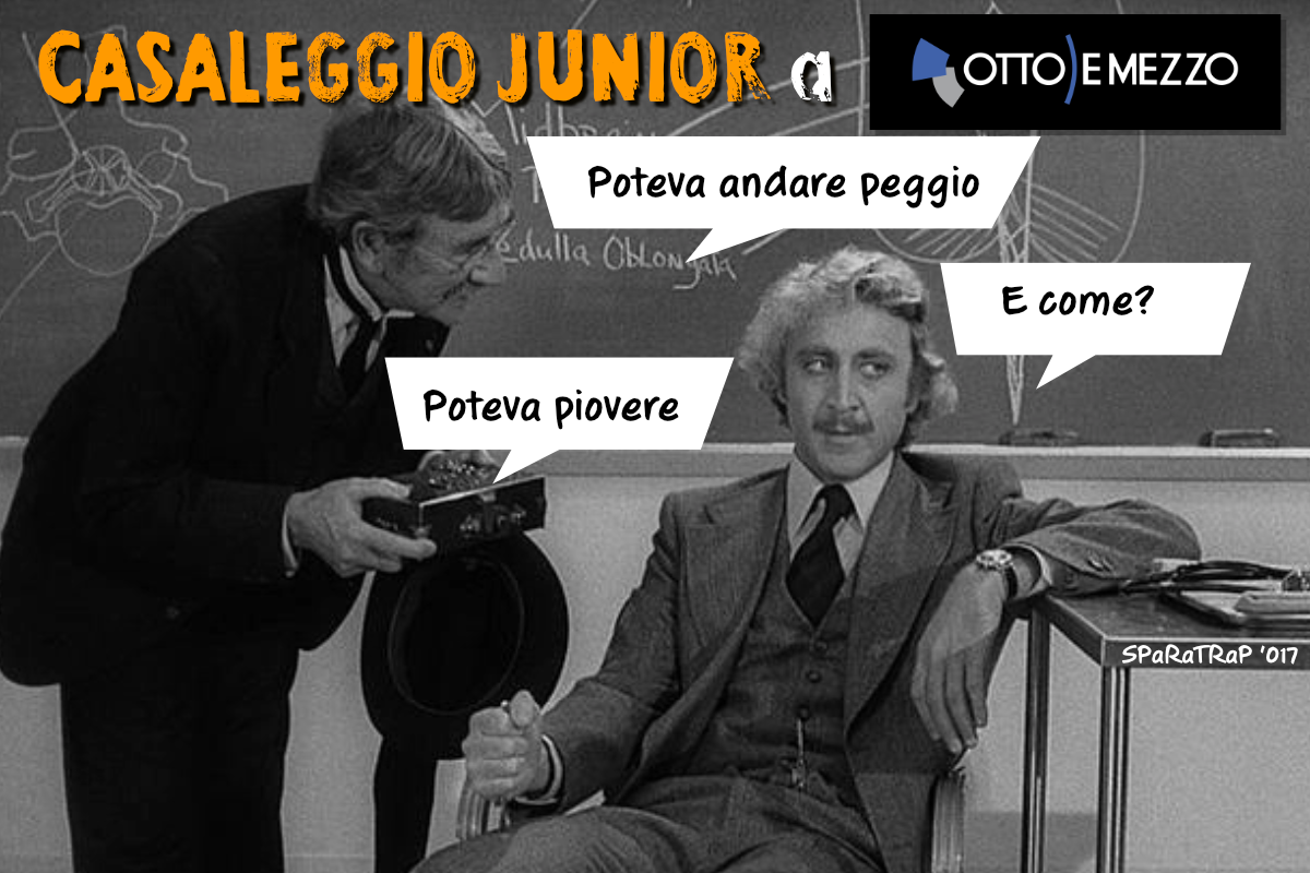Casaleggio Junior prima TV