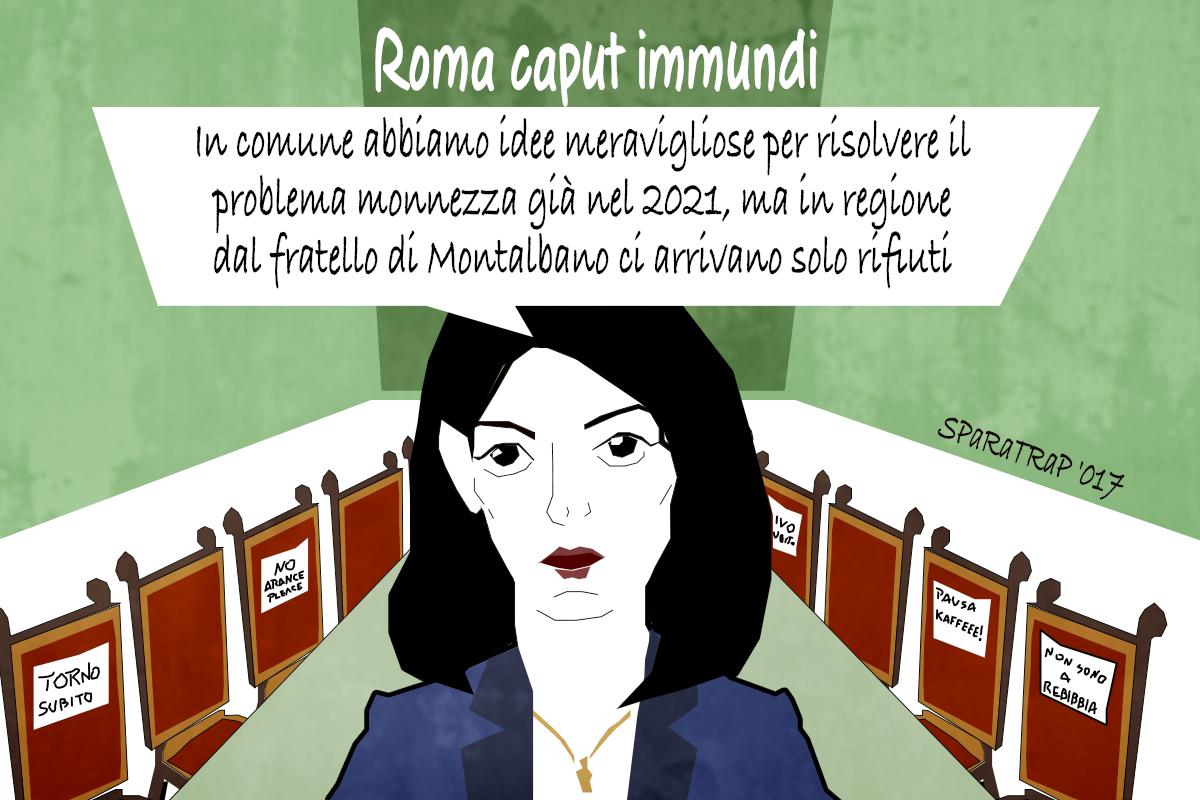 Roma storia di monnezza e rifiuti