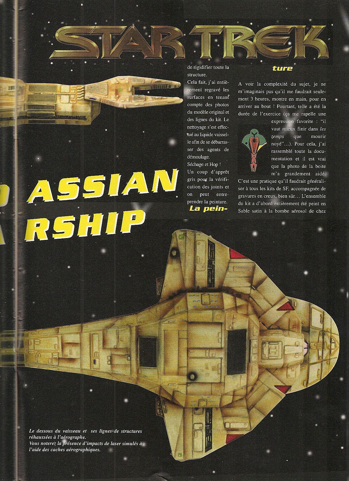 Star Treck  Cardassian Warship