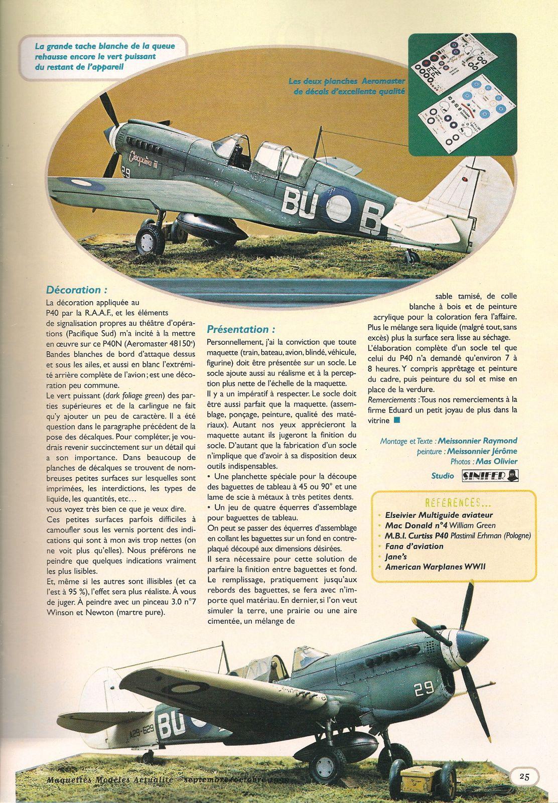 Curtiss P40 N