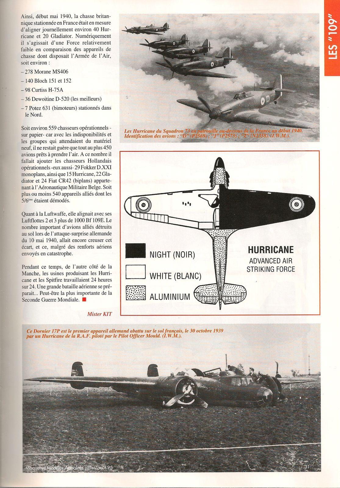 la drôle de guerre: Messerchmitt Bf 109 E3