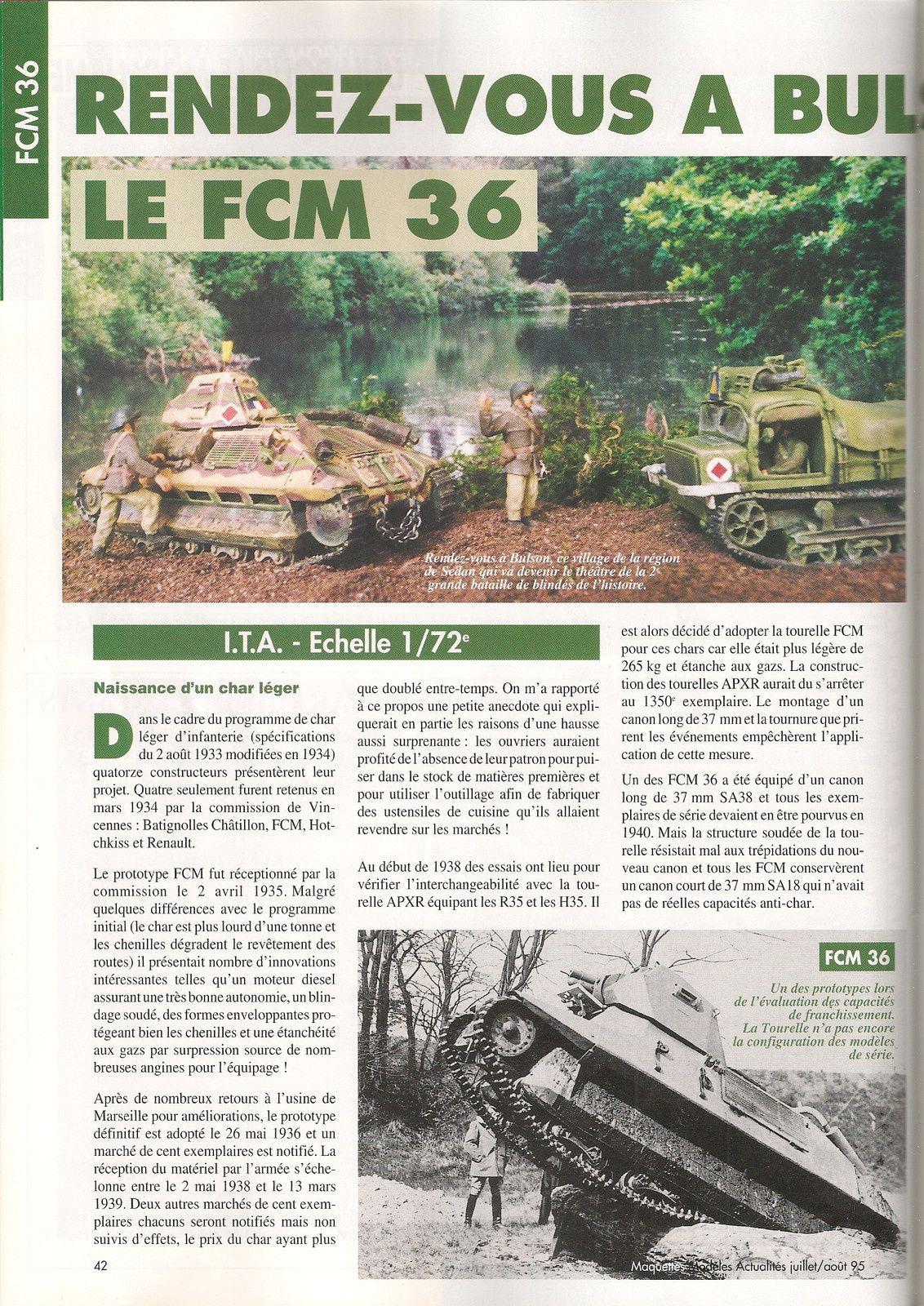 FCM 36    &quot&#x3B; Rendez vous à Bulton&quot&#x3B;