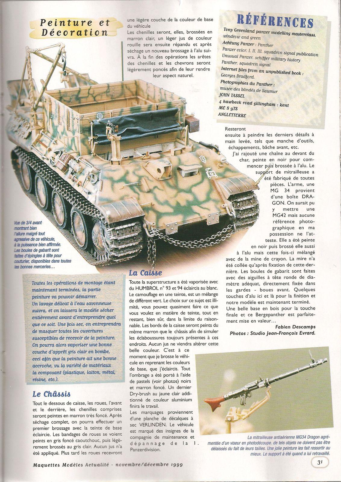 Panther I SdKfz 179 Panzer Bergerat