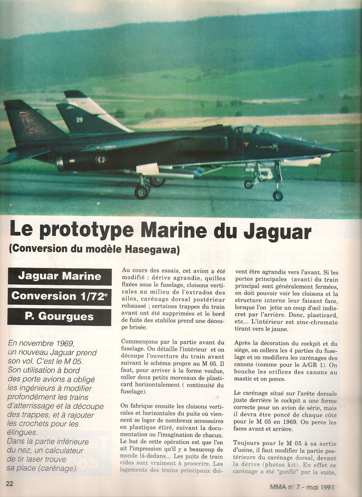 Jaguar versions Marine