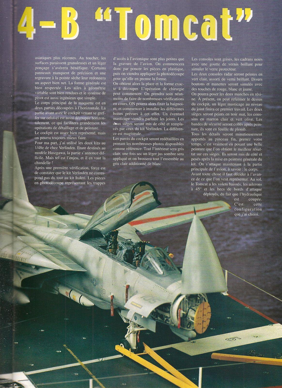 Grumman F14-B  Tomcat