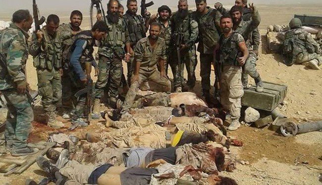 Graphic: 200 ISIS Terrorists Killed in 3-Day Long Offensive in Deir Ezzo