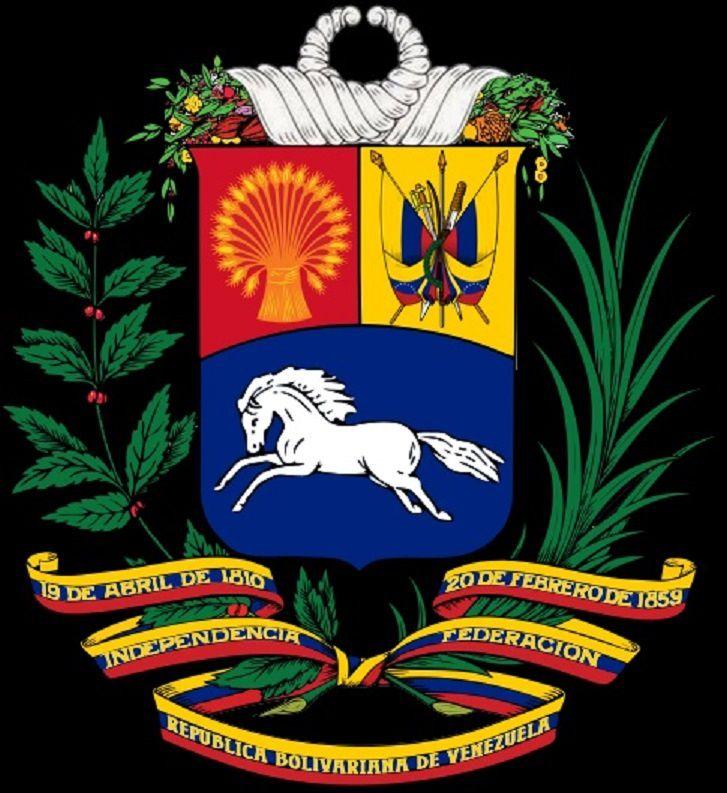 Sigle du Venezuela. Image Wikipedia