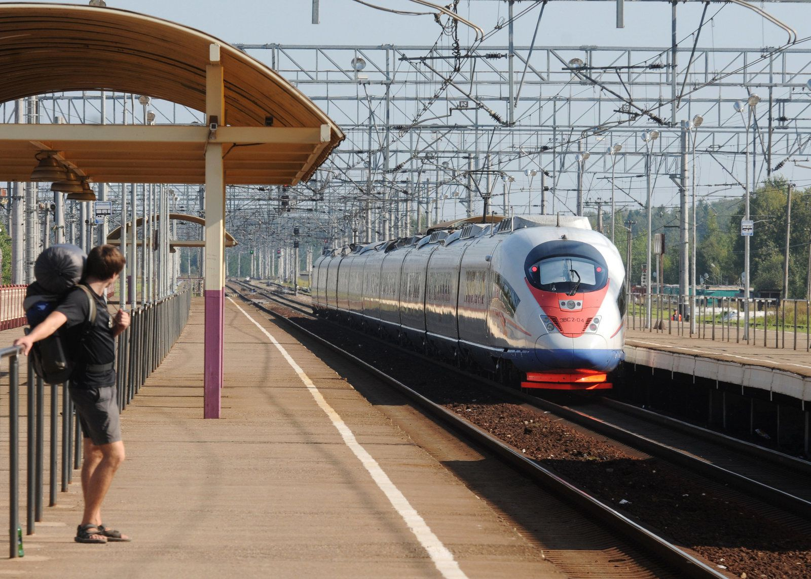 © Sputnik/ Konstantin Chalabov Sapsan high-speed train