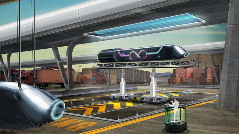 Un train ultra rapide Hyperloop à Moscou, la réalisation d'un rêve de science-fiction