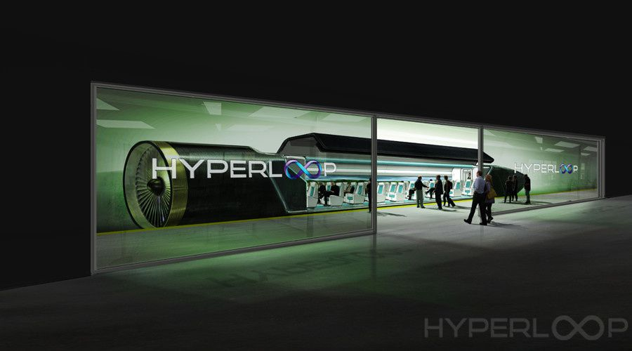 © Capture d'écran, hyperloop-one.com