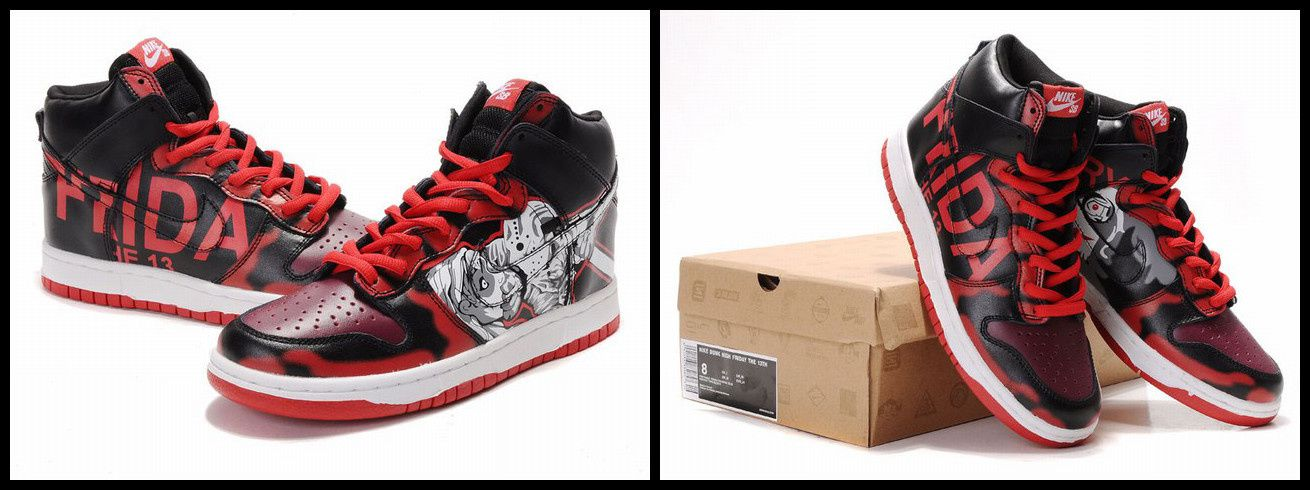 5e960649c5 Customized Nike Dunk Friday the 13th Shoes - sneakersstyle.over-blog.com
