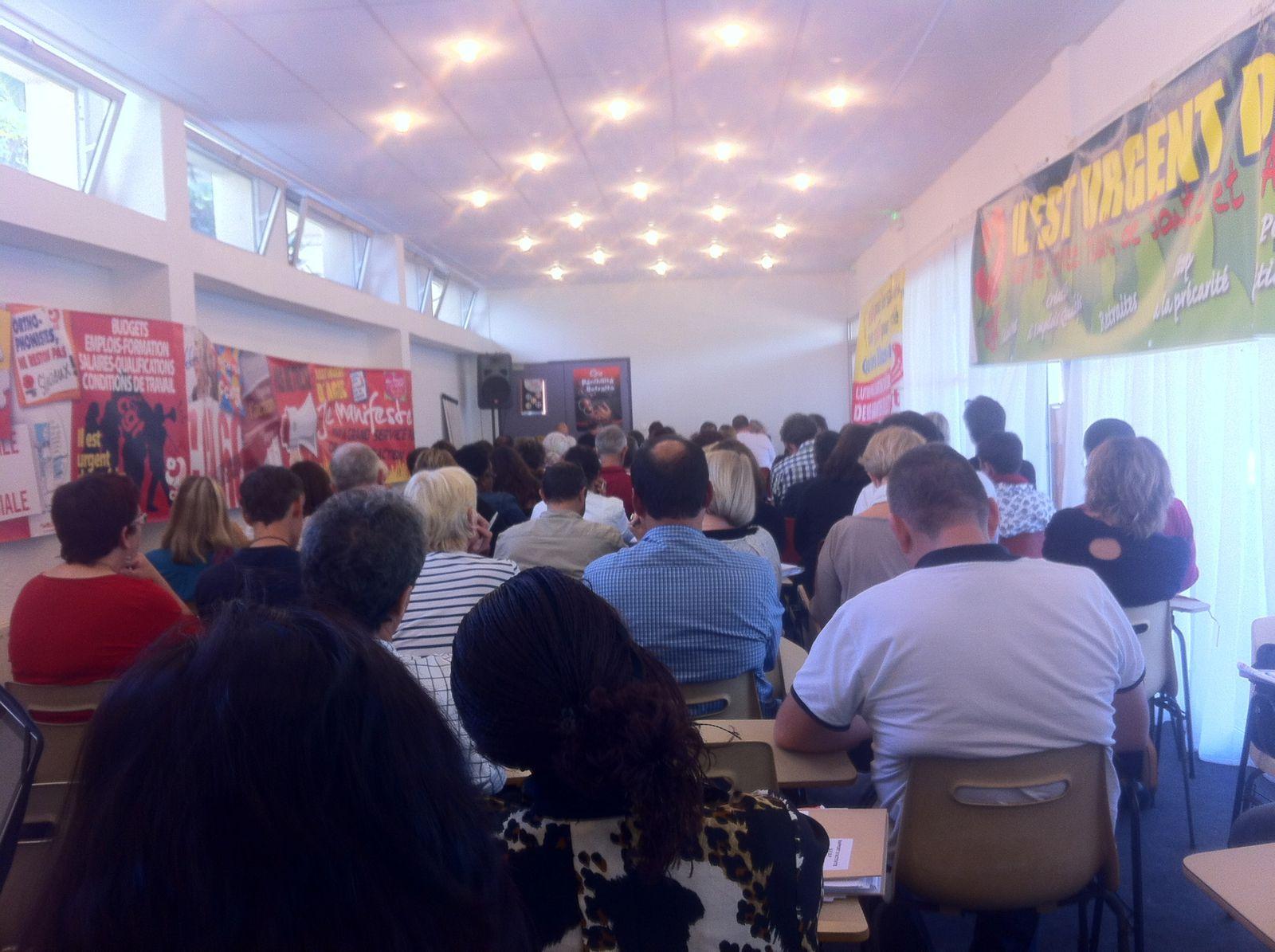 Congrés de l'UFSP(4): vendredi 11 octobre 2013.