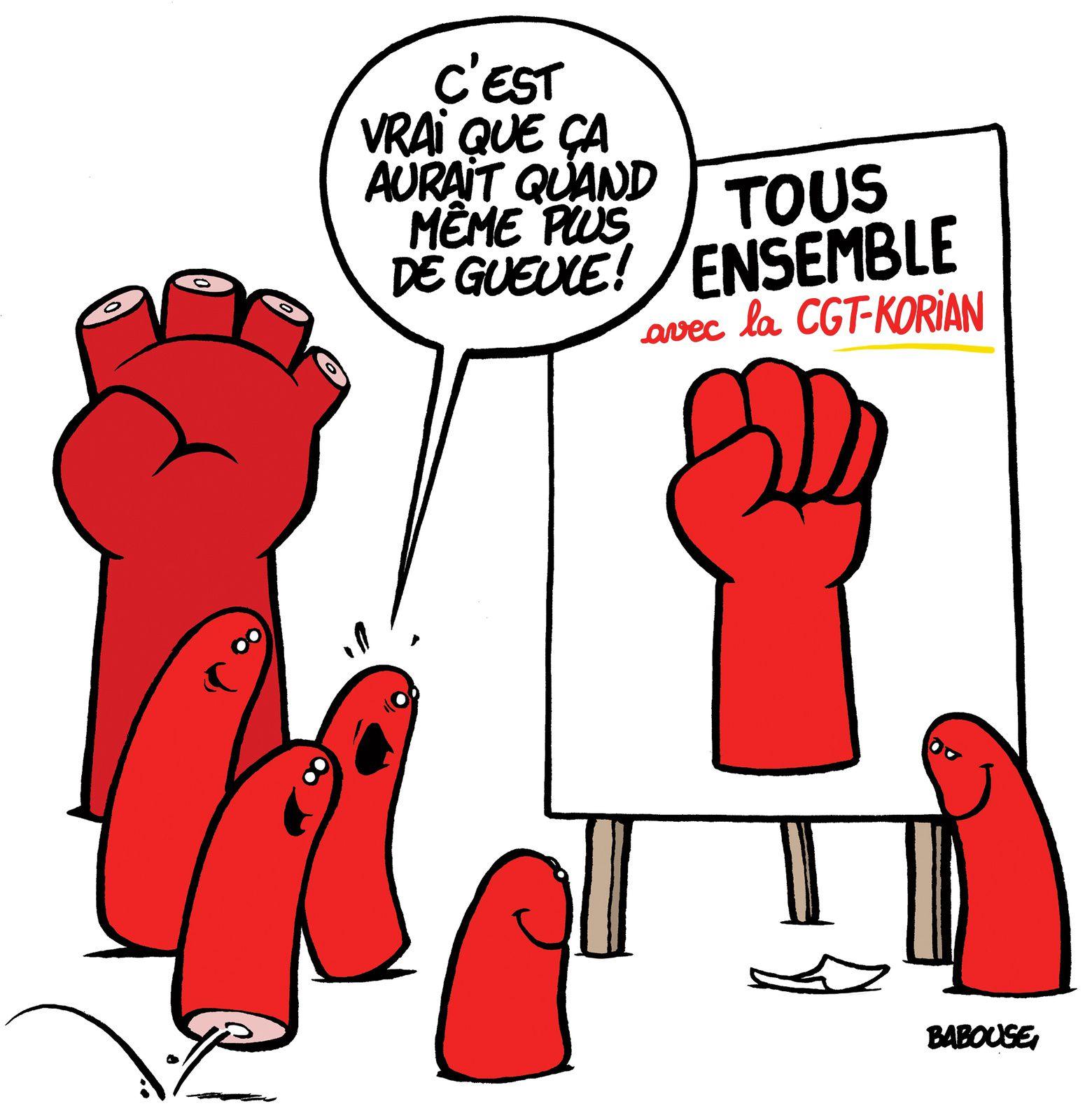Elections Korian: VOTEZ POUR LA CGT!!!!!