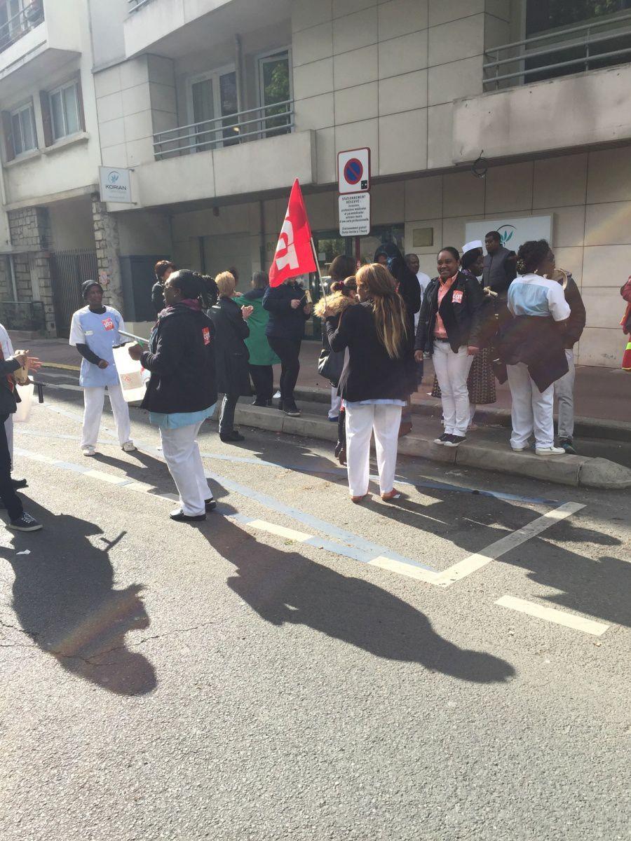 Korian: en direct de la MDR St Charles à Sceaux!