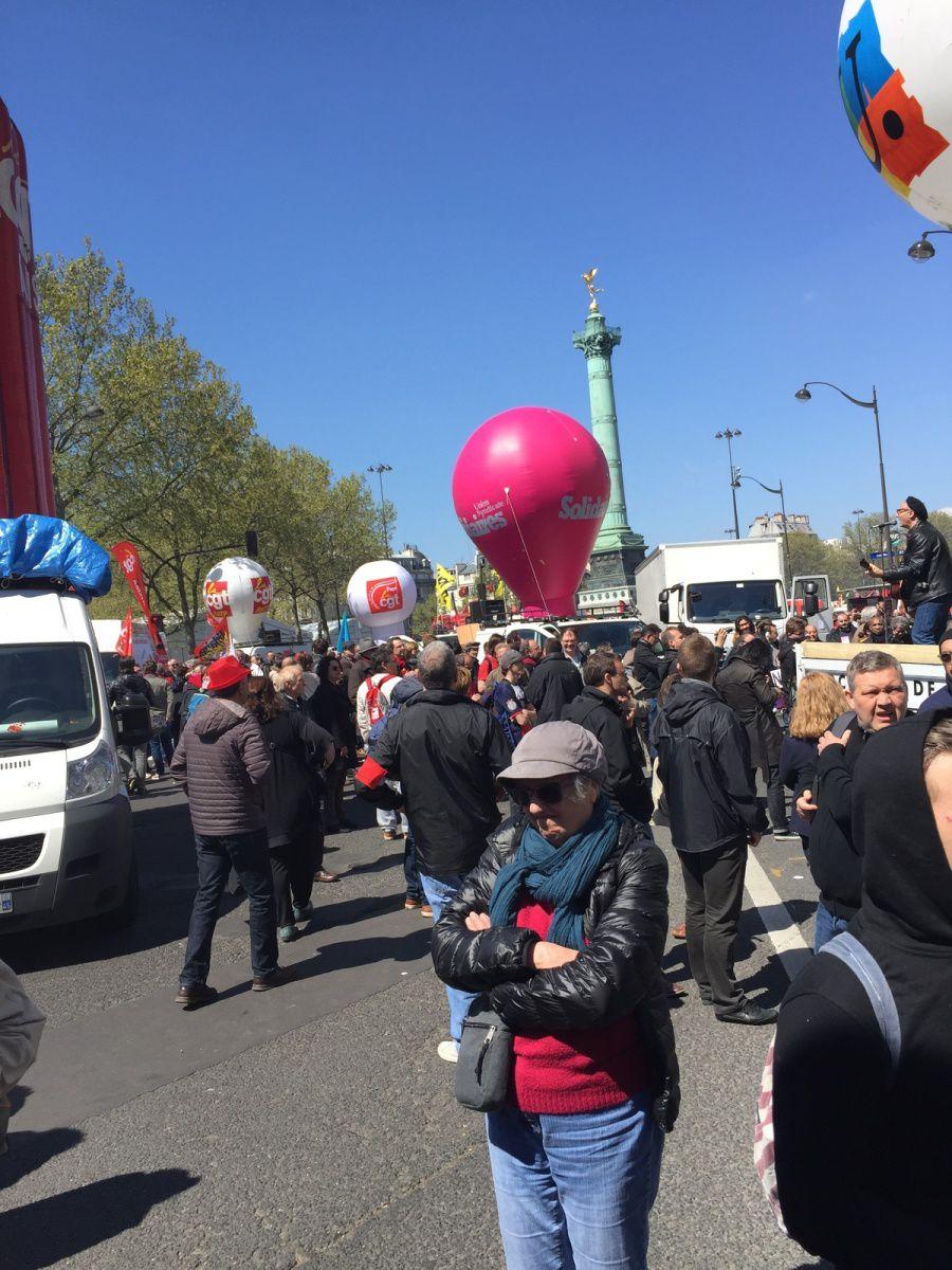 1er Mai à Paris.