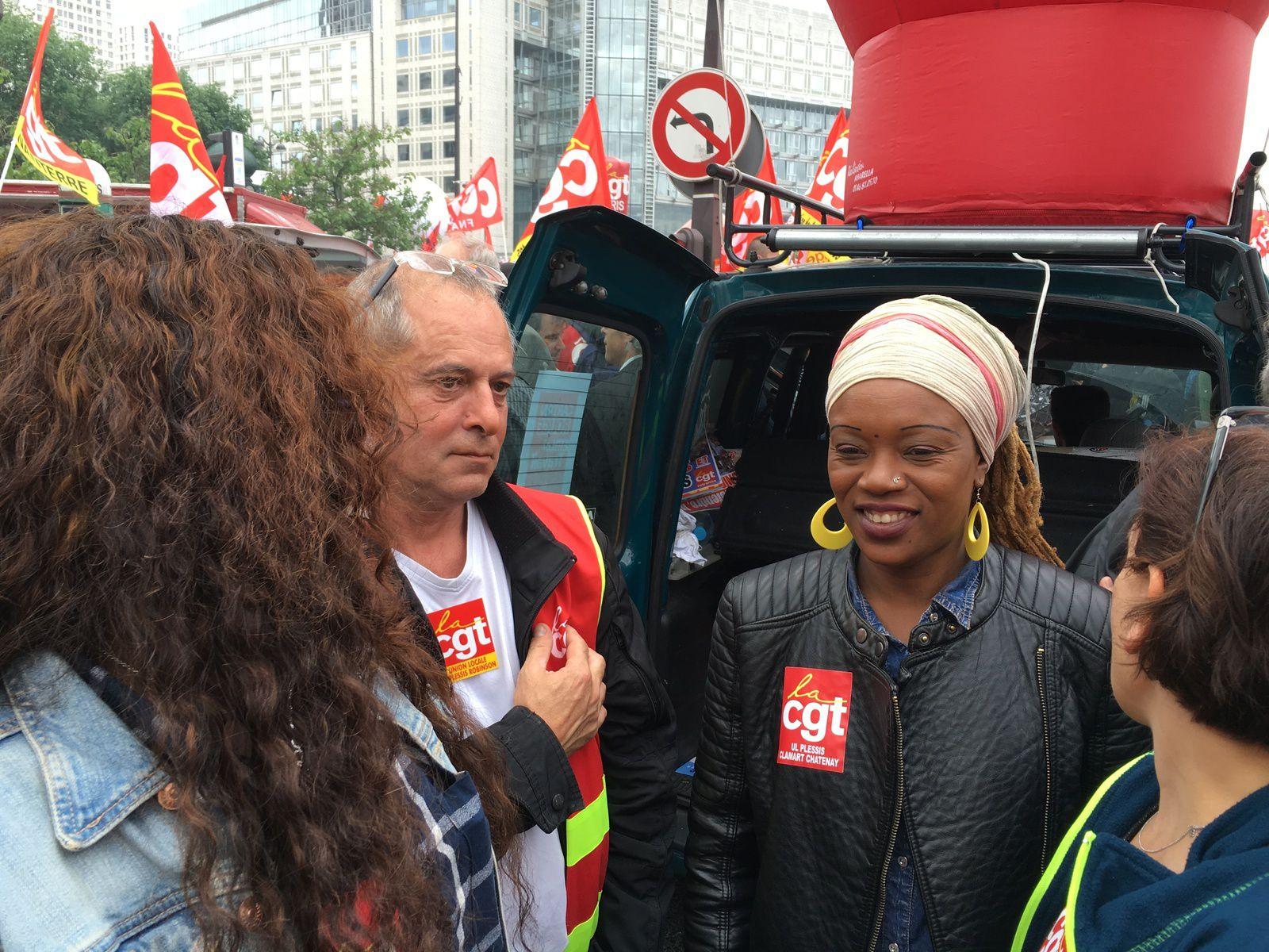 14 juin: la CGT Korian dans la rue contre la loi travail!