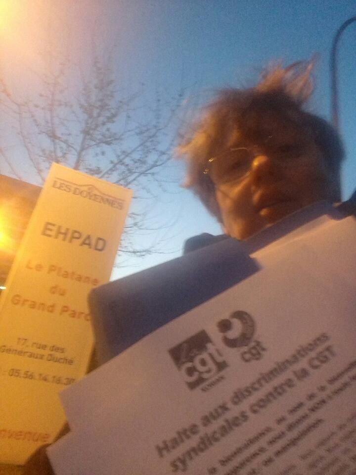 Bordeaux, Marseille, la CGT Korian sur le terrain pour la défense des droits syndicaux&#x3B; Communiqué de la Confédération CGT.