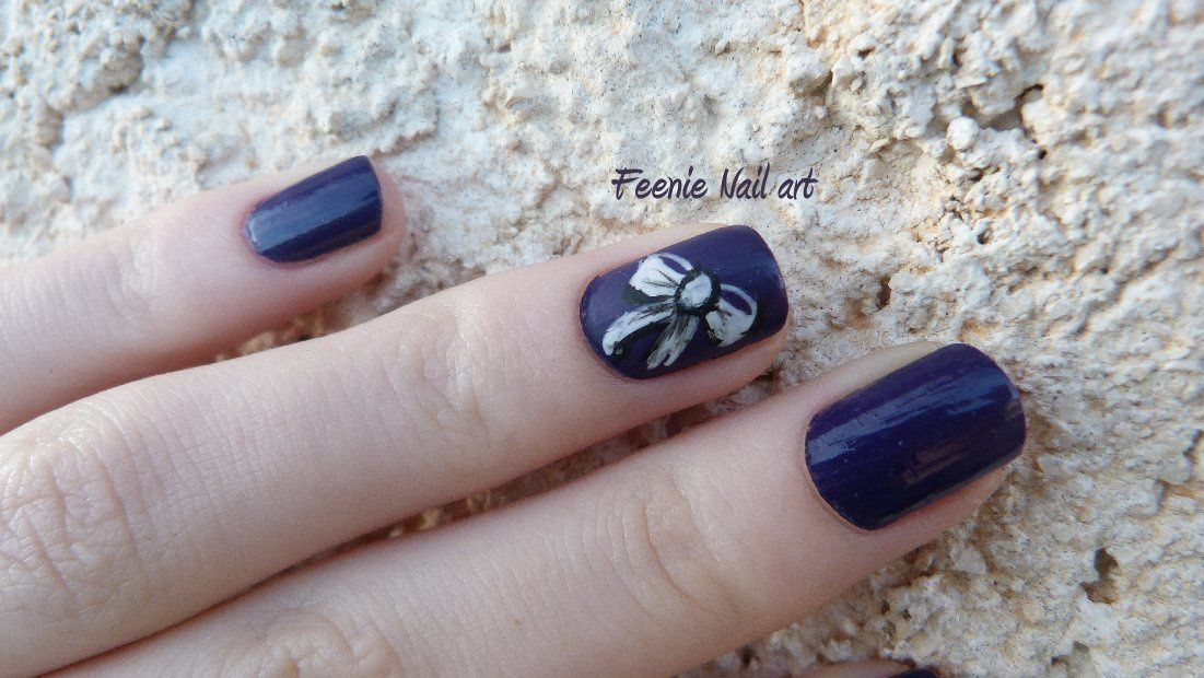 Accent nail noeud
