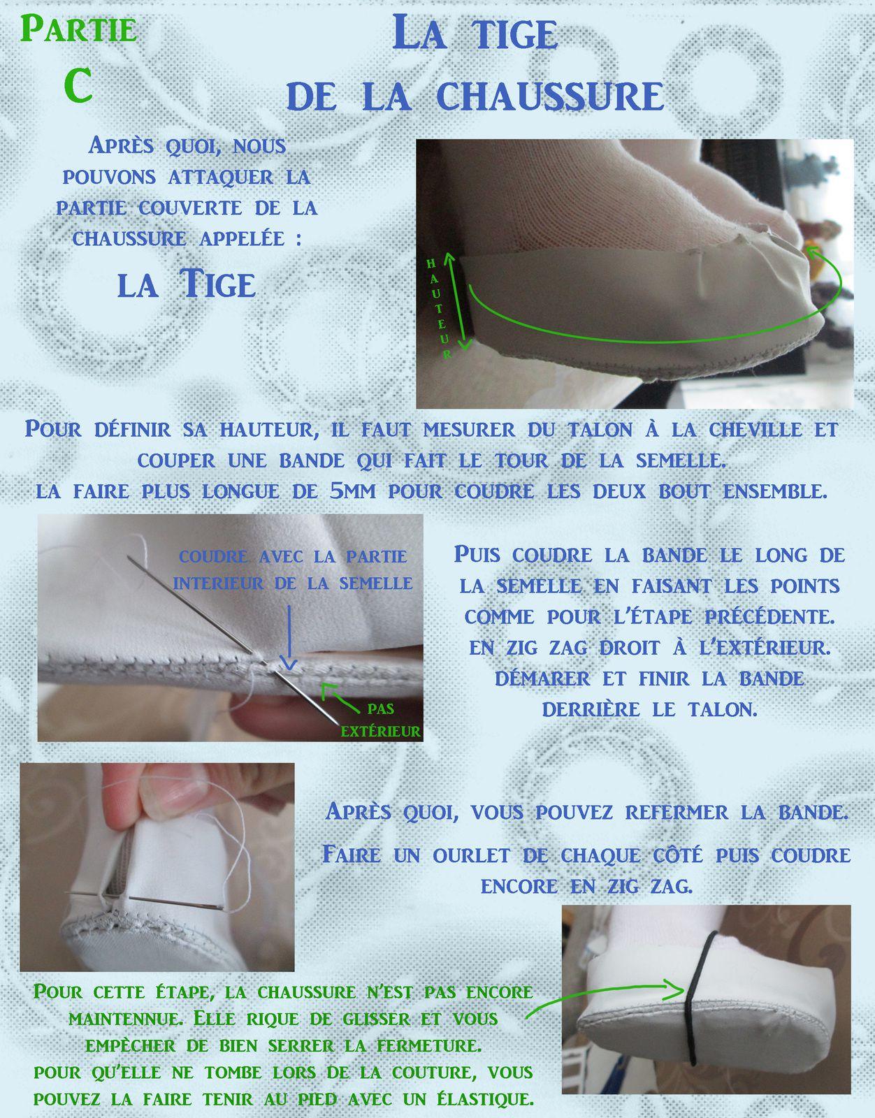Tuto gratuit: Des chaussures de poupées
