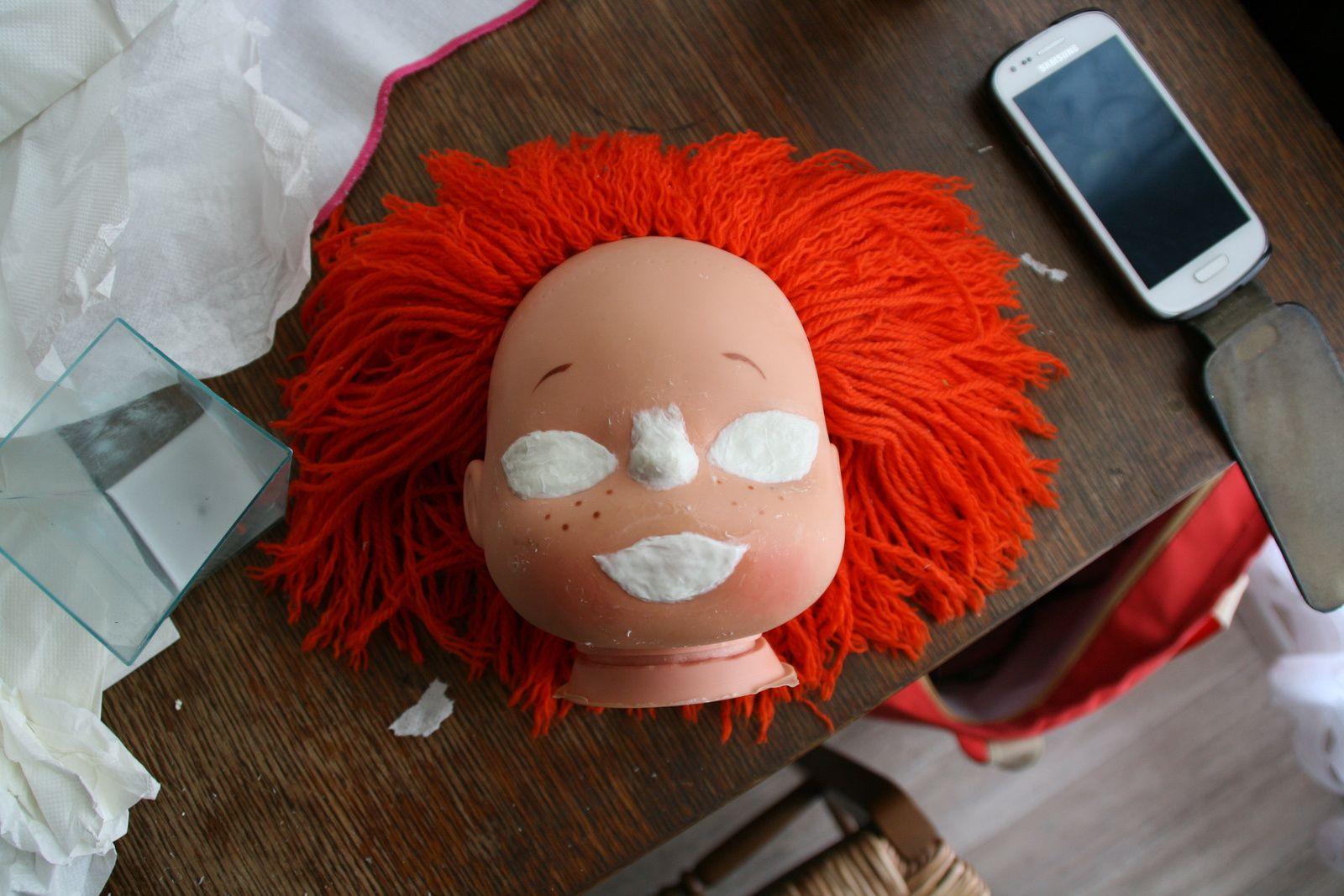 Tuto : Petit clown devient petite fille