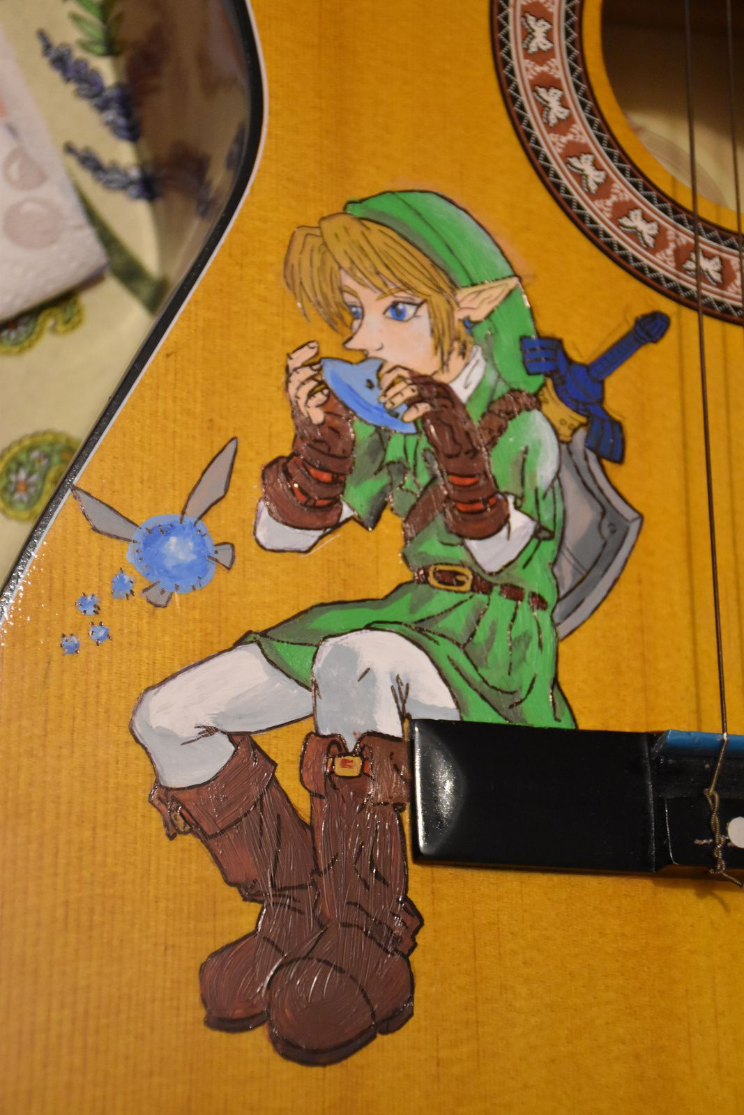 Customisation de Guitare GEEKTARD ZELDA