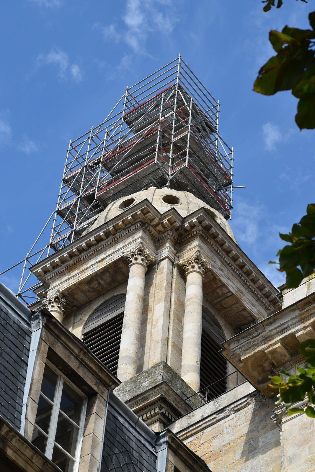 la cathédrale est en restauration depuis pas mal d'années