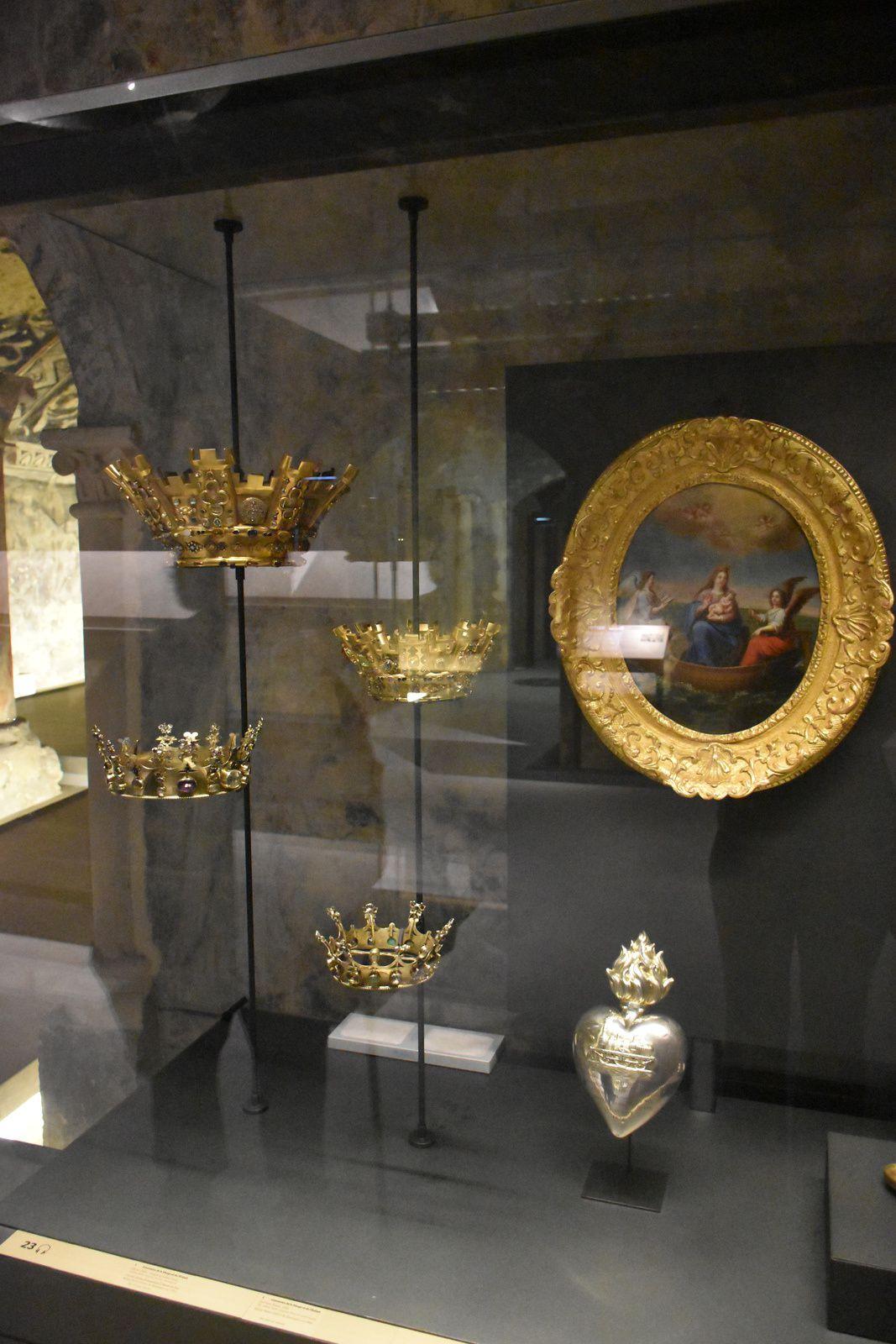 crypte de Boulogne sur mer &#x3B; visite 3  la salle de Marie et le trésor