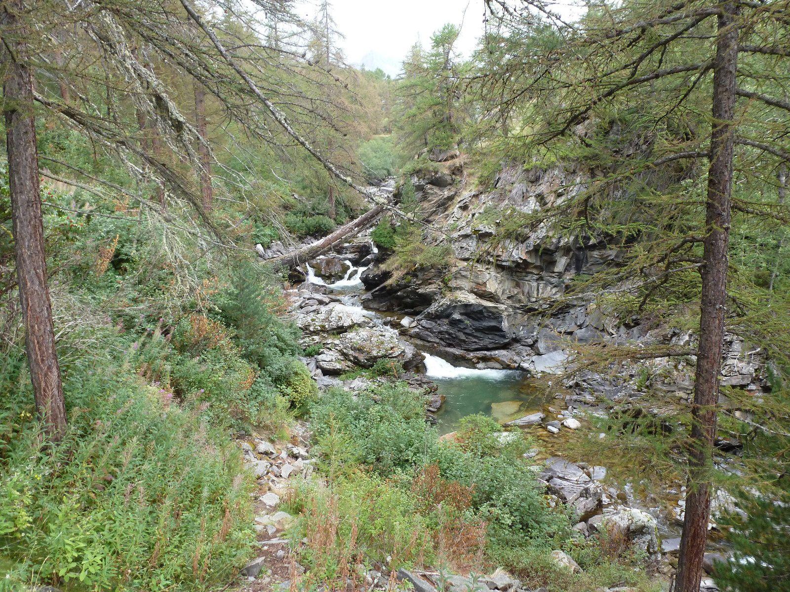 Vallée de la Clarée à l'approche de Névache