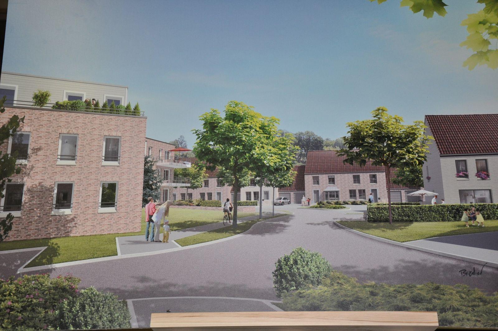 Maisonneuve : projet immobilier rue de La Fontaine à Verlinghem
