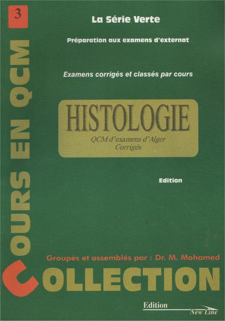 serie verte histologie