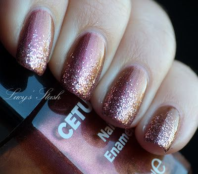 Gradient Manicure With Cetuem 167 Amp Sparitual Clarity Lucy S Stash