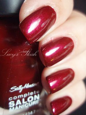 Sally Hansen Wine Not From Complete Salon Manicure Collection Lucy S Stash