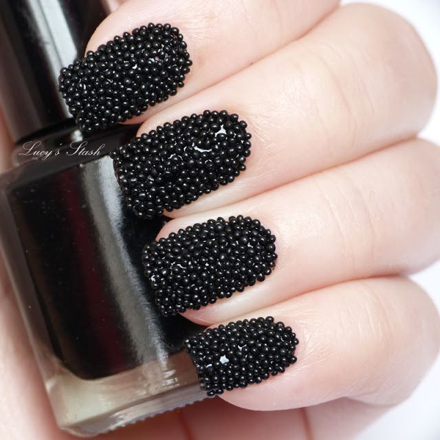 Caviar Nail Polish: How To: DIY Kaviar Manicure For Less (inspired By 'caviar