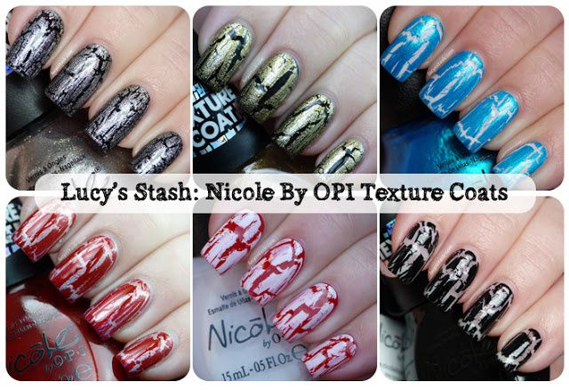 Nicole by OPI Texture coats - review and swatches of last six shades ...