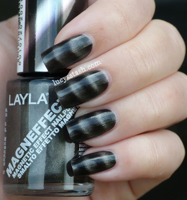 Layla Magneffect polishes - swatches of 10 magnetic shades! (pic ...