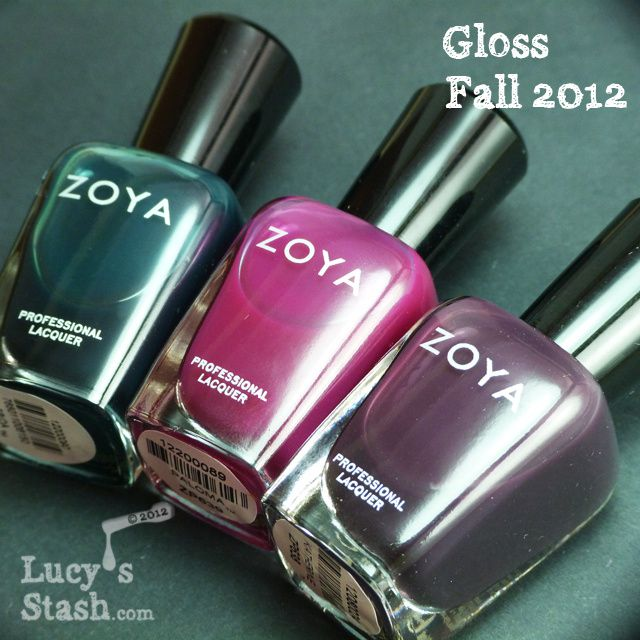 Zoya Gloss collection for Fall 2012
