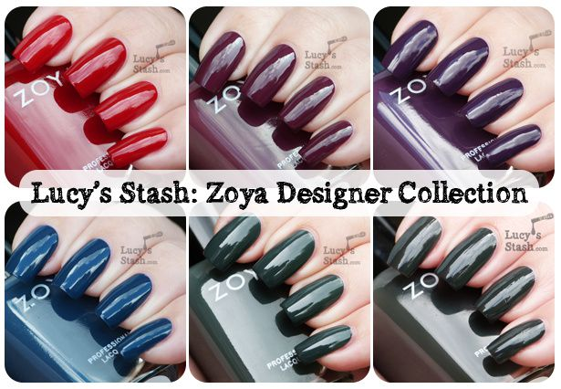 Lucy's Stash - Zoya Designer Collection for Fall 2012