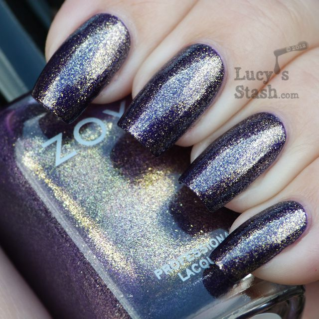 Lucy's Stash - Zoya Diva Collection - Daul over Suri
